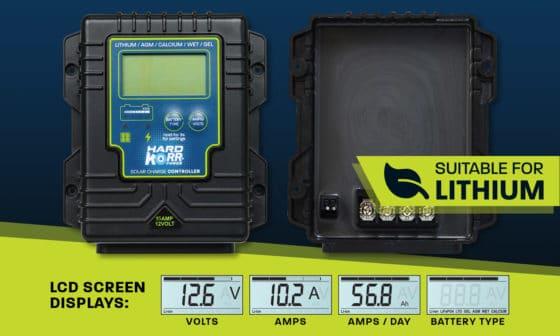 Smart Solar Regulator / Controller 15A Waterproof