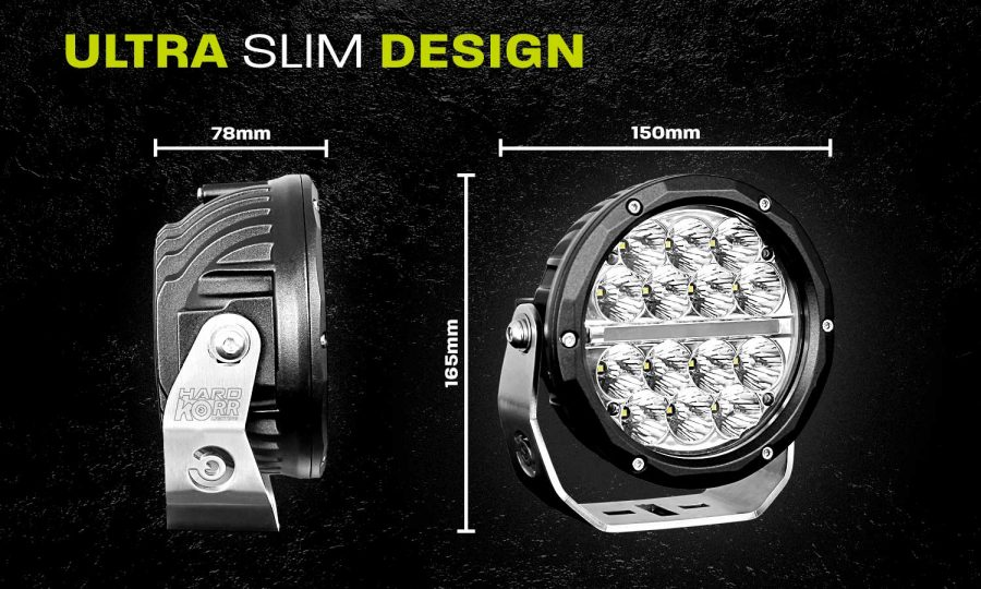 Ultra Slim LED Driving Light BZR160