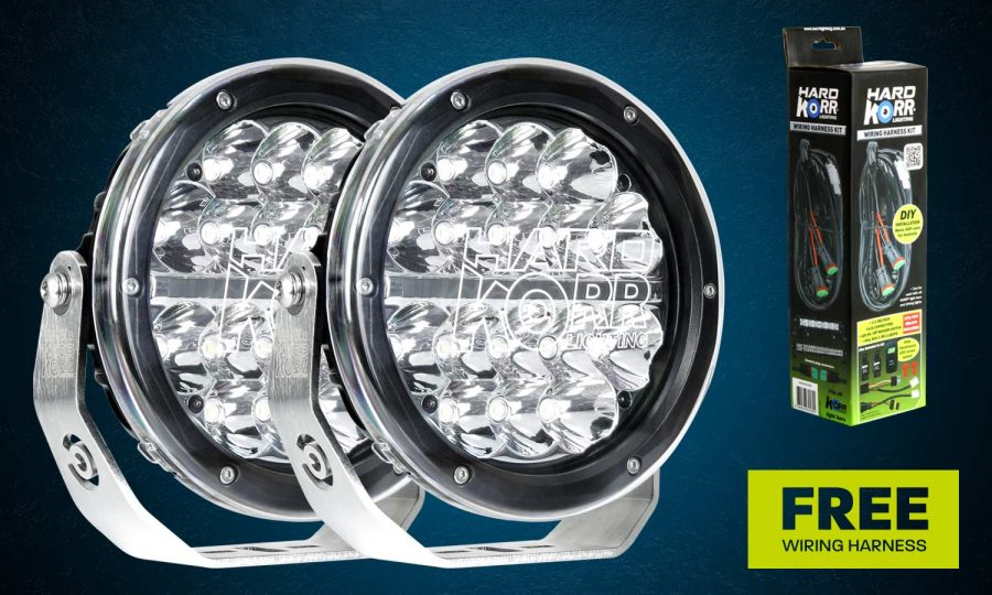 7 Inch LED Driving Light Hard Korr Trailblazer Series BZR180
