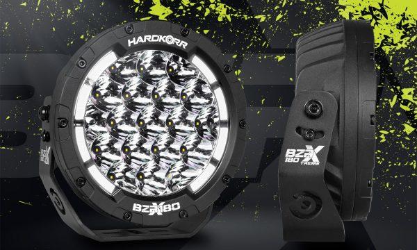 """Hard Korr BZR-X Series 7"""" LED Driving Lights"""