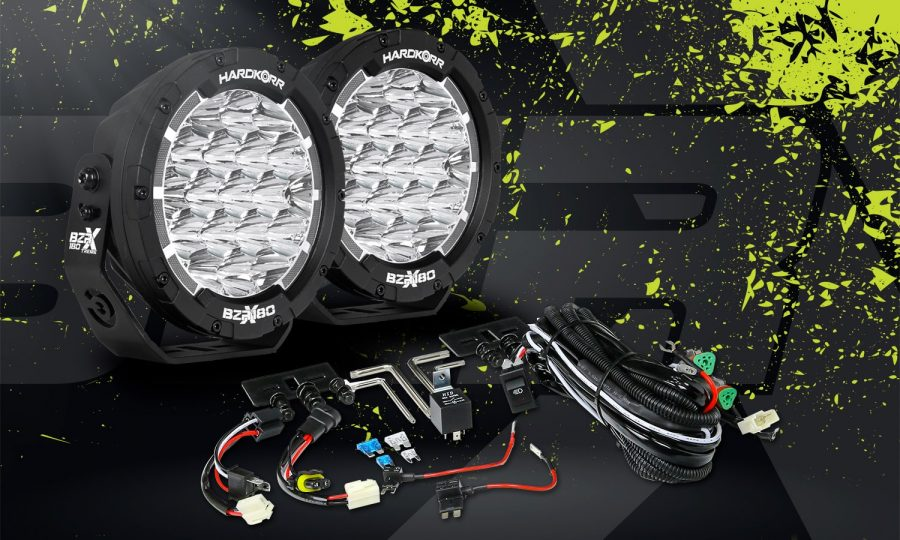 "BZR-X Series 7"" LED Driving Lights Contents"