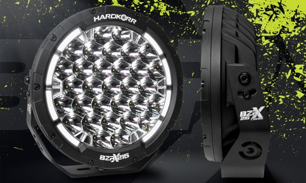 "Hard Korr BZR-X Series 9"" LED Driving Lights"