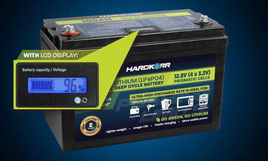 Hard Korr 100AH Lithium Deep Cycle Battery Prismatic Cells