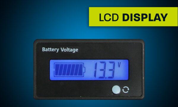 Hardkorr lithium battery voltage display