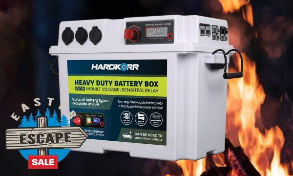 Hard Korr Heavy Duty Battery Box with Voltage Sensitive Regulator