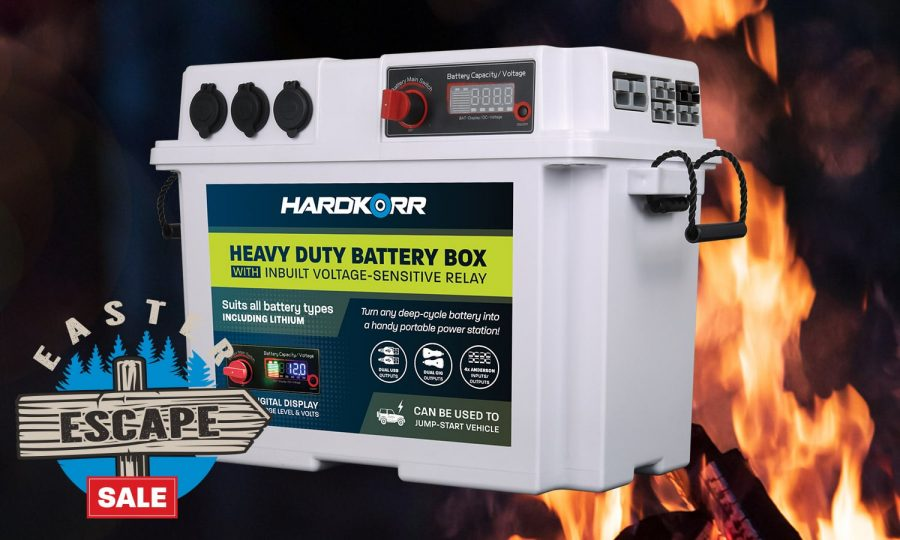 Hard Korr Heavy Duty Battery Box with Voltage Sensitive Regulator