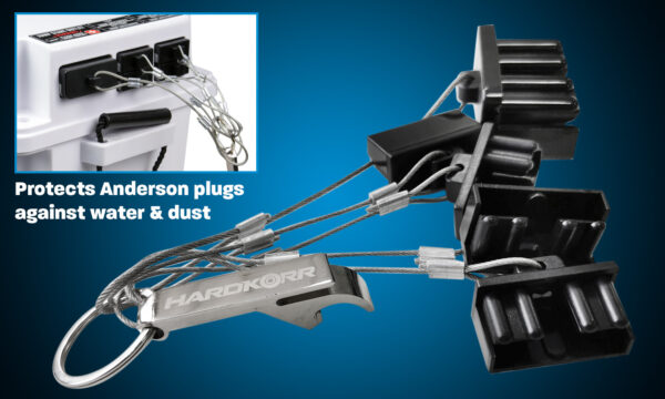 Anderson plug covers for Hardkorr battery box set 5