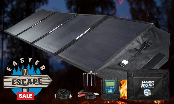 Heavy Duty Portable Solar Panels 200w with Lithium Regulator