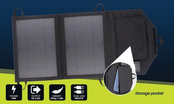 15w personal USB solar panel
