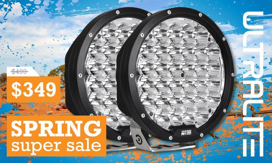 """Ultralite Series 9"""" LED Driving Lights HKULTRA215 (Pair)"""