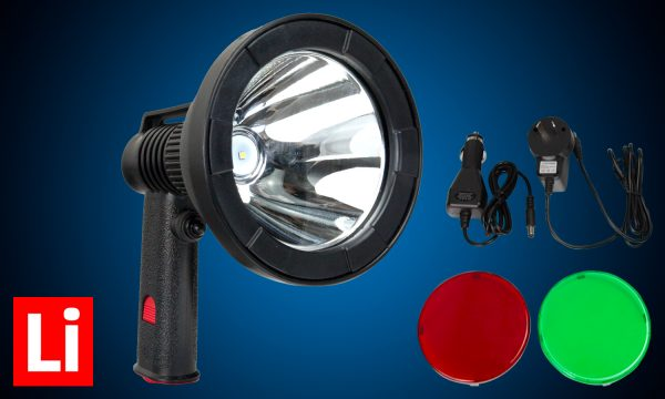 Hardkorr KTS12 hand held hunting spotlight