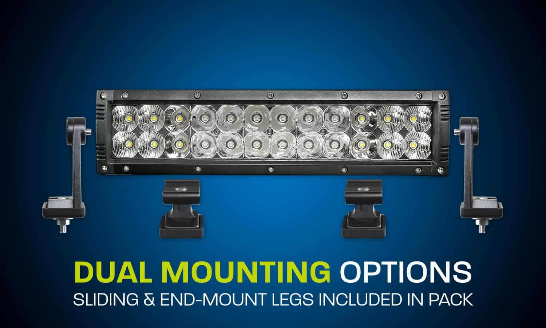 Xd Gen3 12 Dual Row Led Light Bar Xdd400 G3 Hard Korr Lighting Aluminum Boat Wiring Diagram