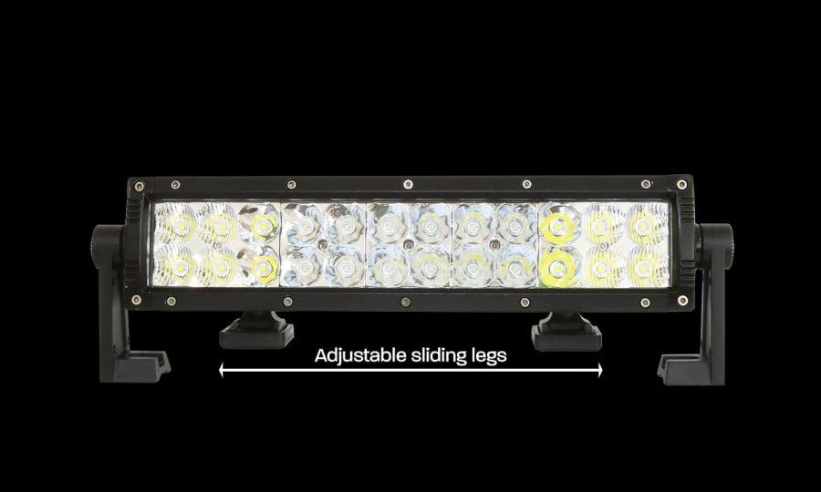 The XDD400-G3 LED Light Bar has sliding legs
