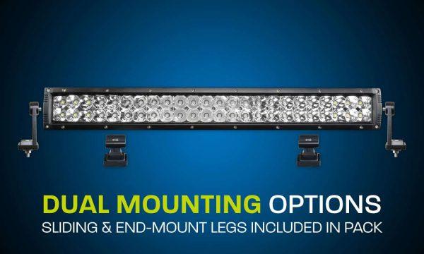 Hard Korr Lighting XDD550-G3 Dual Row LED Light Bar