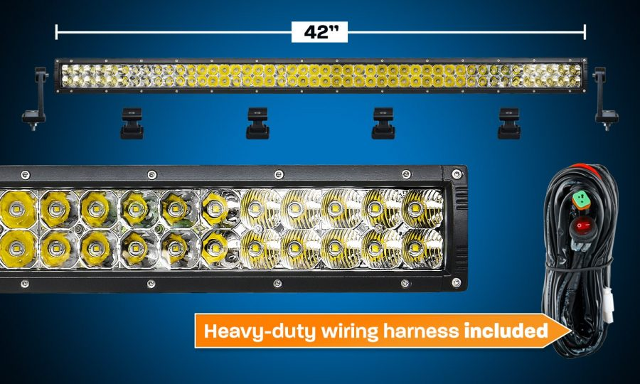 "42"" LED Light Bar Dual Row XDD820-G3"