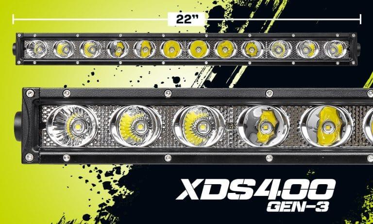 "22"" Single Row LED Light Bar XDS400-G3"