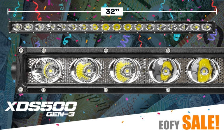 "32"" Single Row LED Light Bar XDS500-G3"