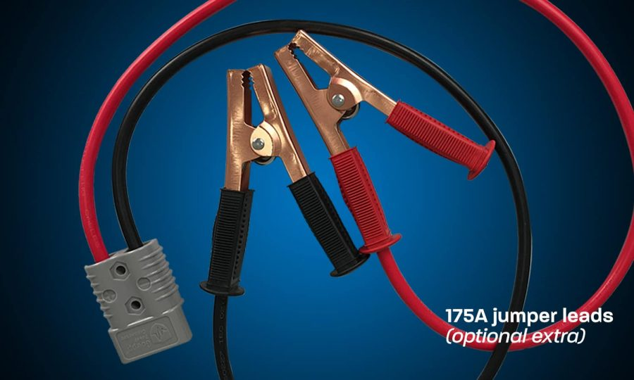 175Ah jumper leads for battery box