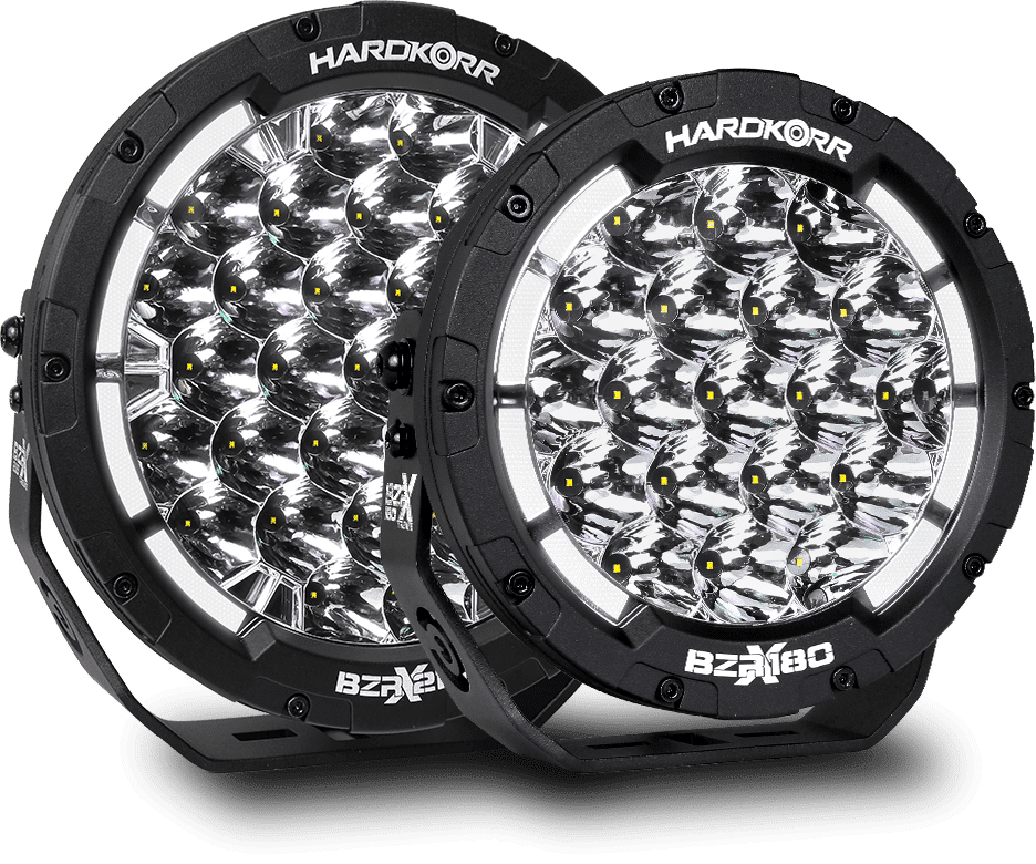 BZR-X LED Driving Lights 7 Inch & 9 Inch