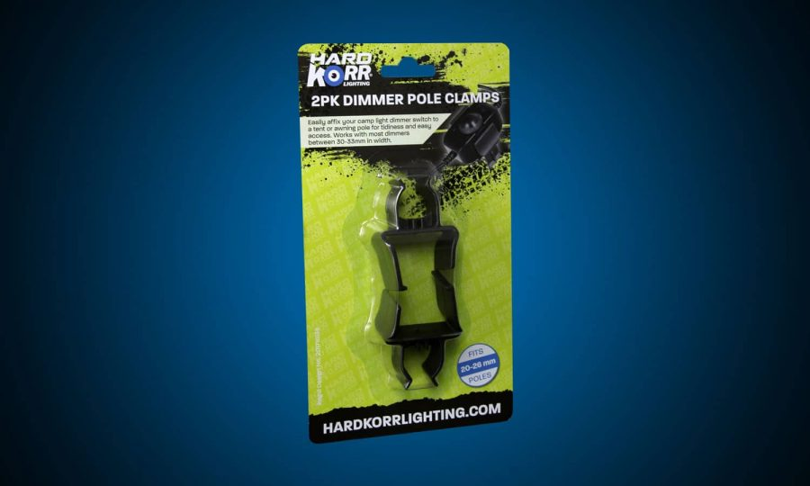 Hard Korr Camp Light Dimmer Pole Clamps