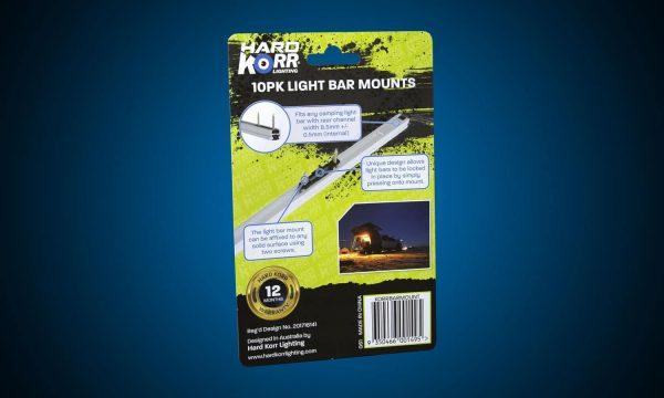Hard Korr Camp Light Bar Flush Mount Clips