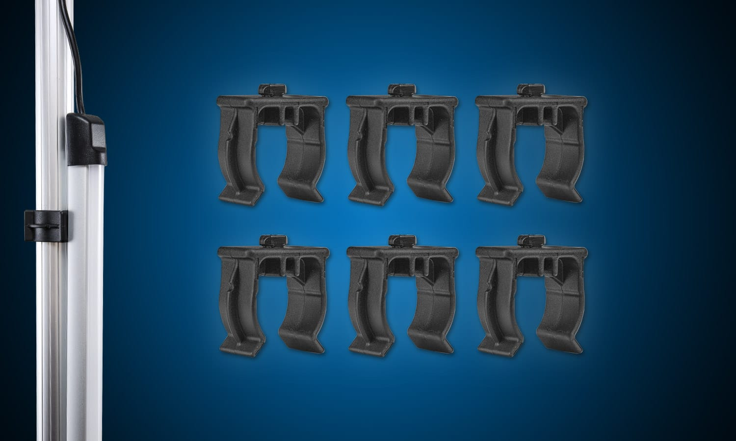 Light Bar Pole Clamps (6 Pack)