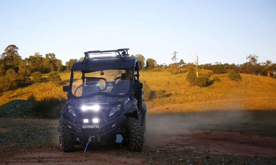 Hard Korr CF-MOTO with XDD400-G3 and XDD550-G3