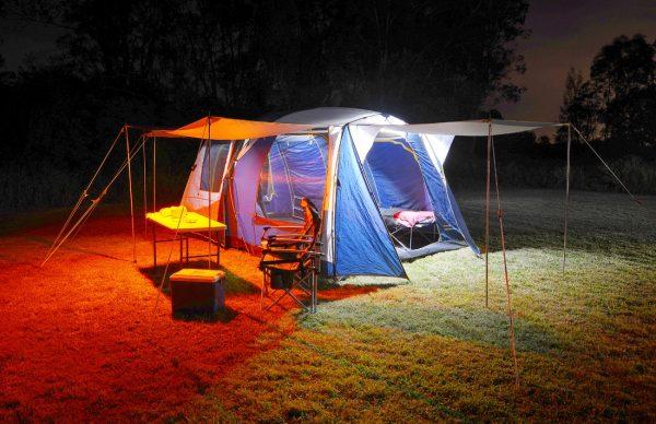 4 Bar Tricolour (Orange / Warm White / Cool White) LED Camp Light Kit