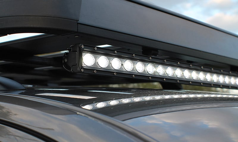Automotive atv hard korr au led light bars single row mozeypictures Choice Image
