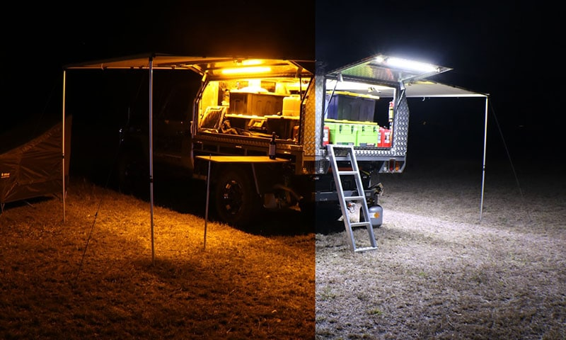 LED Camping Light Bars