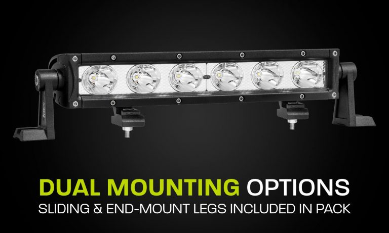 Hard Korr Lighting LED Light Bar Single Row XDS310