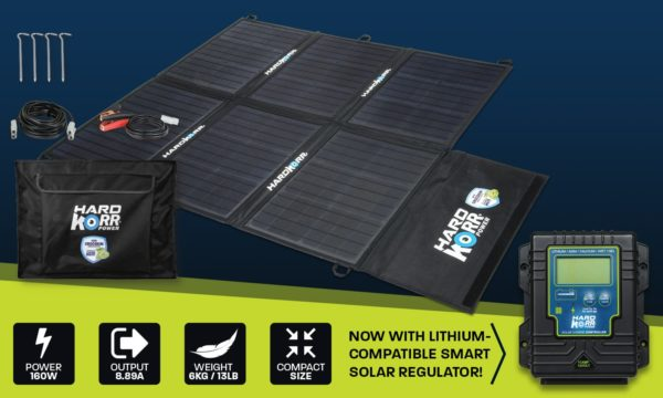 Light weight solar blanket 160w