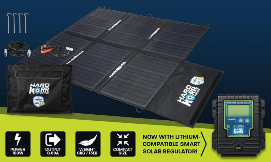 Light weight solar blanket 160w