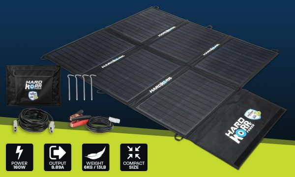 Light weight solar blanket 160w (no controller)