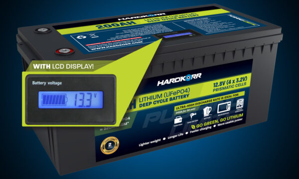 Hardkorr 200AH Lithium Deep Cycle Battery Prismatic Cells