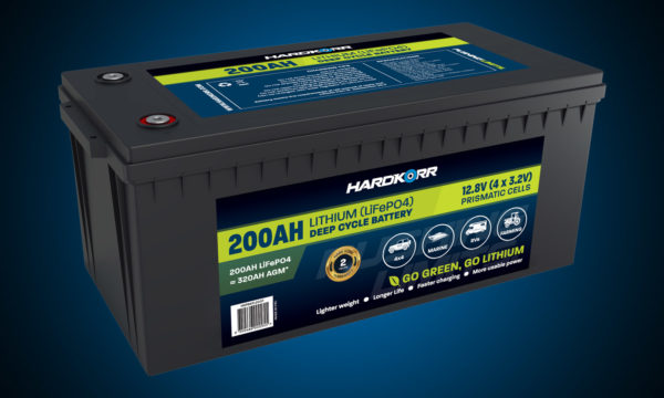 Hard Korr 100AH Lithium Deep Cycle Battery Prismatic Cells