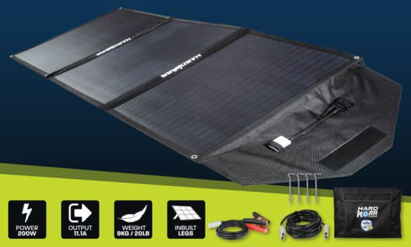 Heavy Duty Portable Solar Panels 150w No Controller