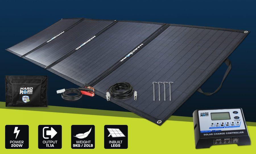 Heavy Duty Portable Solar Panels 200w
