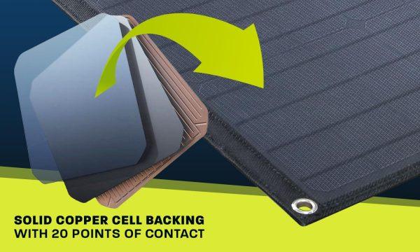 150w Heavy Duty Portable Solar Panels with Crocskin® Cell Armour