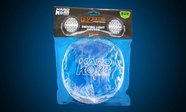 Blue protective covers for 7 Inch Hard Korr BZR Series driving lights