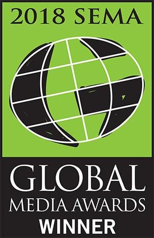Hard Korr Lighting won a SEMA Global Media Award