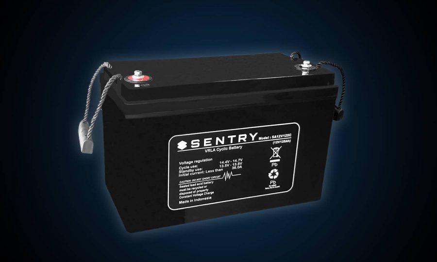 Sentry 125AH AGM Deep Cycle Battery