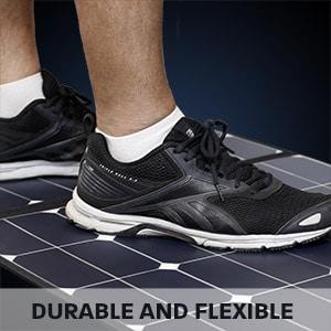Hard Korr solar mats are tough and flexible