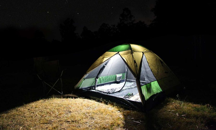 Unilight Rechargeable Camping Lantern Tent