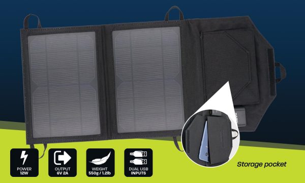 12w personal USB solar panel