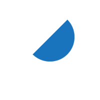 This LED lighting product produces white and blue light
