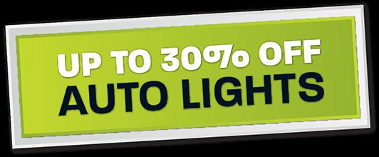 Up to 30% off LED Light Bars